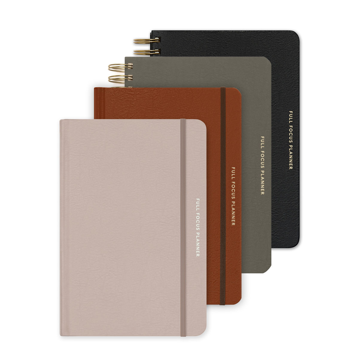 The Full Focus Leather Planner
