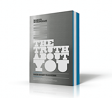the truth about you book cover by marcus buckingham