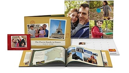 iPhoto books as they look when they are printed