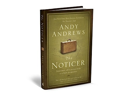 3d cover of the noticer by andy andrews