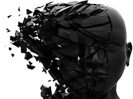 a man's head exploding