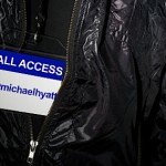 A Back Stage Pass to My Life
