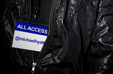A Backstage Pass to @MichaelHyatt