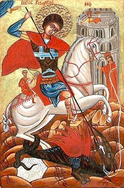 An Icon of St. George