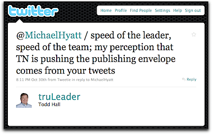 A Tweet About Leadership
