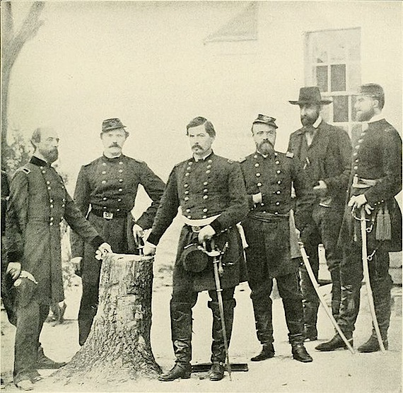 Gen. George B. McClellan and His Staff