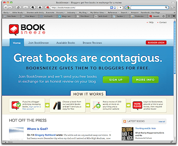 Booksneeze Screenshot