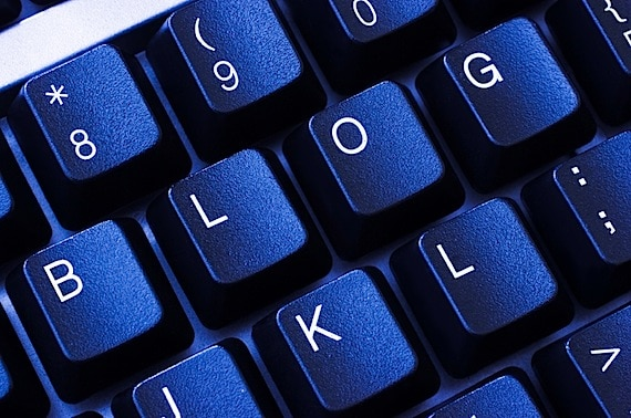 A Keyboard with the Word Blog - Photo courtesy of ©iStockphoto.com/jallfree, Image #2641009