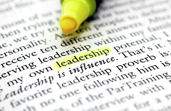 The Word Leadership Highlighted with a Yellow Marker - Photo courtesy of ©iStockphoto.com/svanhorn, Image #3800432