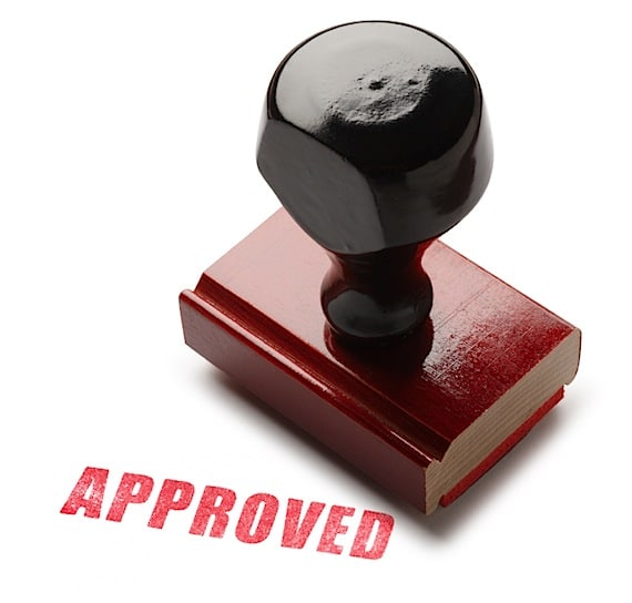 "An ""Approved"" Rubber Stamp - Photo courtesy of ©iStockphoto.com/DNY59, Image #6618875"