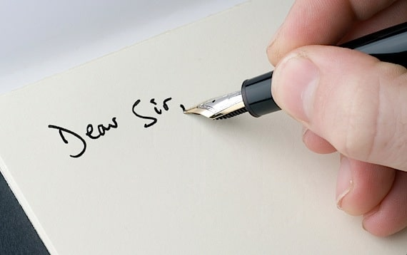 Someone Writing a Complaint Letter - Photo courtesy of ©iStockphoto.com/RollingEarth, Image #4683049