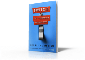 A 3D Photo of the Book Switch by Chip Heath and Dan Heath