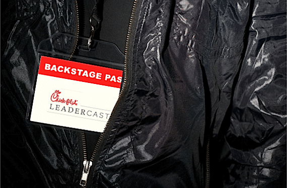 Backstage Pass to Chick-fil-A Leadercast