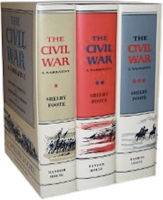 Boxed Set of Civil War by Shelby Foote