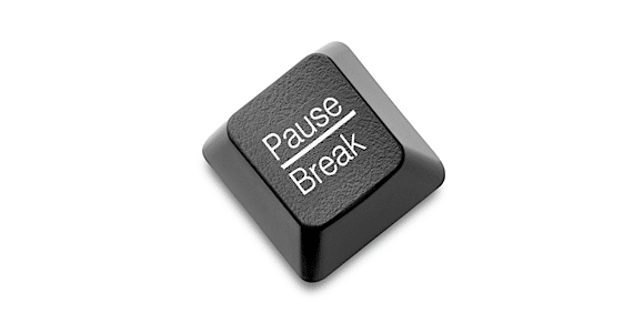 A Computer Pause/Break Button - Photo courtesy of ©iStockphoto.com/smartstock, Image #4497362