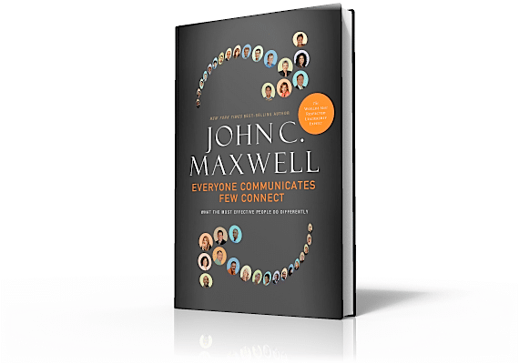 3-D Book Cover for Everyone Communicates, Few Connect by John C. Maxwell