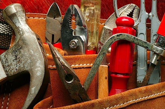 Close Up of Tools on a Tool Belt - Photo courtesy of ©iStockphoto.com/DNY59, Image #2124951