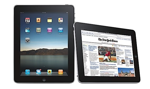 Official iPad Photo from Apple's Web Site