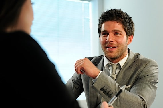 Business People Interacting - Photo courtesy of ©iStockphoto.com/peepo, Image #8633913