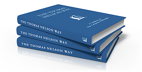 A Stack of The Thomas Nelson Way Books