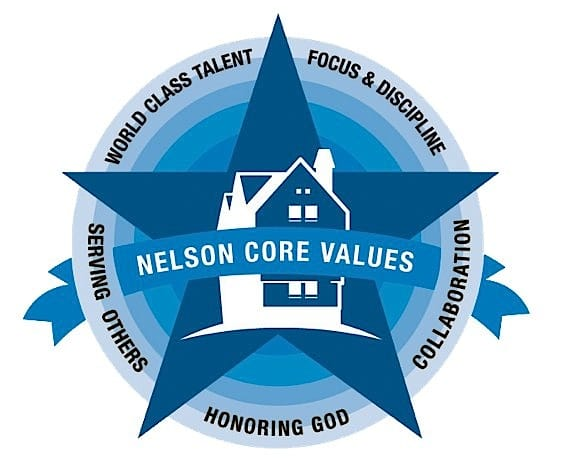 Thomas Nelson Core Values Five-Star Logo