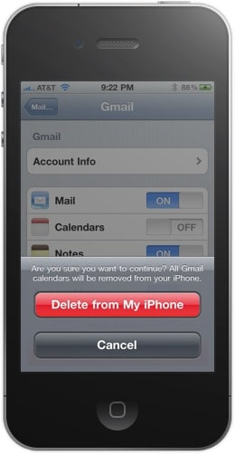 "The ""Delete from My iPhone"" Prompt"