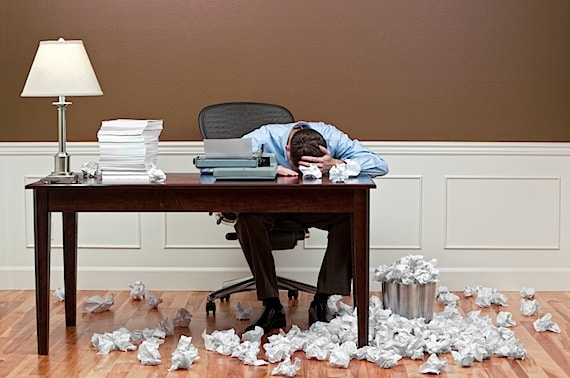 Man Who Is Frustrated at Work - Photo courtesy of ©iStockphoto.com/Cardston, Image #11728503