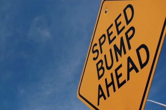 Speed Bump Ahead - Photo courtesy of ©iStockphoto.com/stacey_newman, Image #3984972