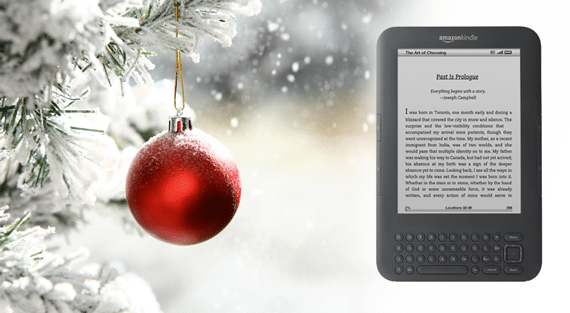 Kindle for Christmas - Photo courtesy of ©iStockphoto.com/spxChrome, Image #14256833