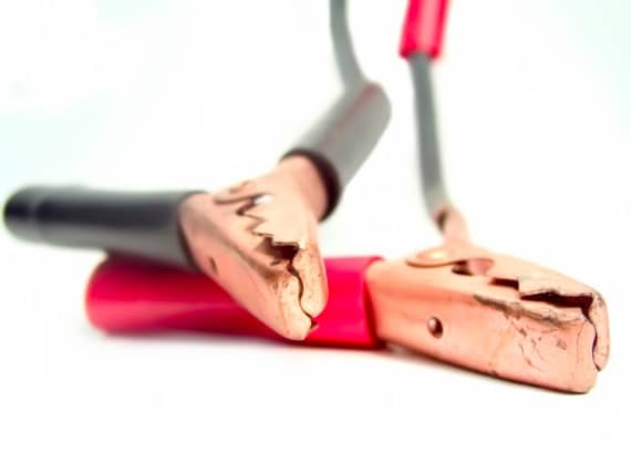 A Pair of Jumper Cables - Photo courtesy of ©iStockphoto.com/drflet, Image #391583