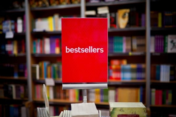 Bestsellers Sign in a Bookstores - Photo courtesy of ©iStockphoto.com/rachwal81, Image #14574585