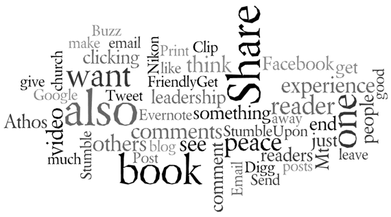 Wordle graphic for February 2011
