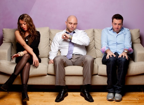 Three Bored People in a Waiting Room - Photo courtesy of ©iStockphoto.com/drewhadley, Image #12692697