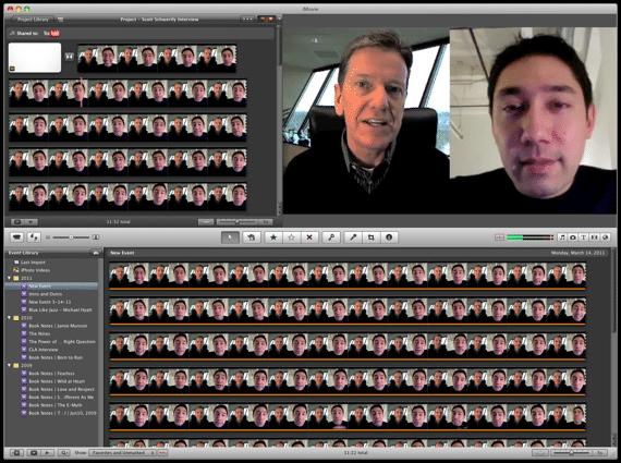 Skype Video Interview Example