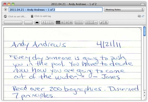 write on notebook paper online
