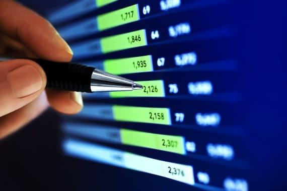 Close-up of Graph - Photo courtesy of ©iStockphoto.com/Nikada, Image #6880980