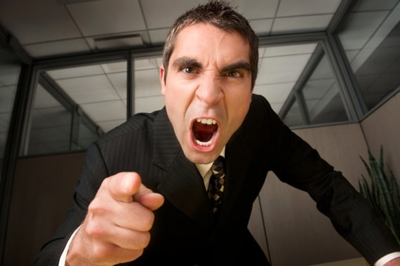 A Businessman Yelling at an Employee -Photo courtesy of ©iStockphoto.com/francisblack, Image #11854358
