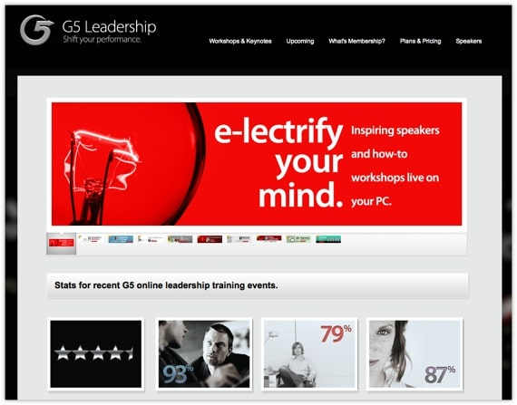 G5 Leadership Website