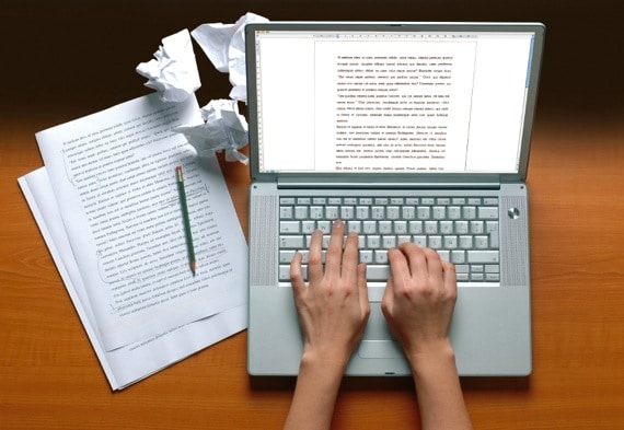 A Writer's Desk - Photo courtesy of ©iStockphoto.com/MiquelMunill, Image #4792809