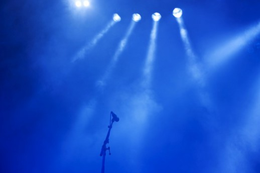 Microphone On a Stage with Lights - Photo courtesy of ©iStockphoto.com/Nikada, Image #7683095