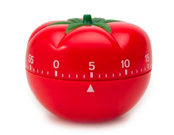 A Tomato Timer - Photo courtesy of ©iStockphoto.com/aroax, Image #9443672