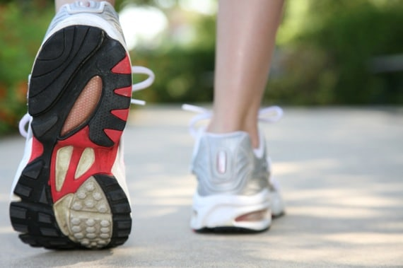 Close-up of a Woman's Running Shoe - Photo courtesy of ©iStockphoto.com/asiseeit, Image #12014469