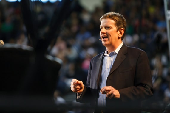 Michael Hyatt Speaking at a University