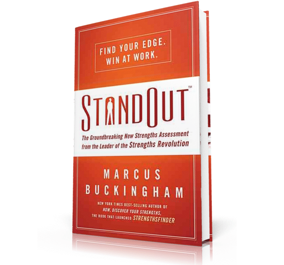 3D Image of StandOut by Marcus Buckingham