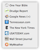 My Daily Reading List in Chrome