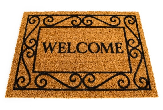 A Welcome Mat - Photo courtesy of ©iStockphoto.com/sjlocke, Image #5590220