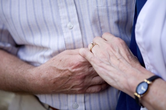 A Couple Holding Hands - Photo courtesy of ©iStockphoto.com/Bryngelzon, Image #6332570