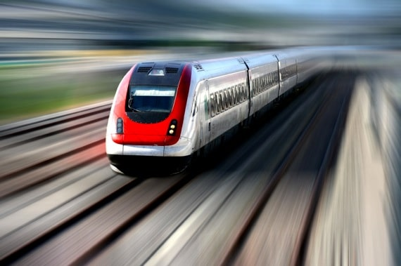 A High Speed Train - Photo courtesy of ©iStockphoto.com/hfng, Image #2294764