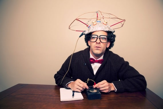 A Crazy Scientist Doing Experiments on Himself - Photo courtesy of ©iStockphoto.com/RichVintage, Image #16177705