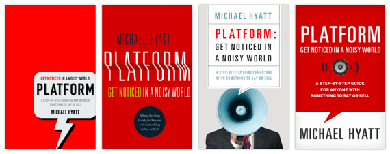 4 Cover Choices for Platform Book Cover